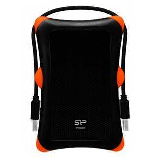 SILICON POWER εξωτερικός HDD 1TB Armor A30, USB 3.1, μαύρο