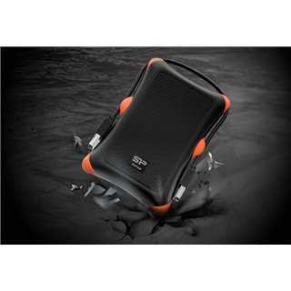 SILICON POWER εξωτερικός HDD 2TB Armor A30, USB 3.1, μαύρο