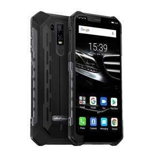 "ULEFONE Smartphone Armor 6E, IP69K, 6.2"", 4/64GB, 8Core, 5000mAh, μαύρο"