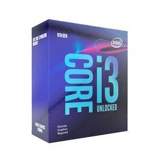 INTEL CPU Core i3-9100F, Quad Core, 3.6GHz, 6MB Cache, LGA1151