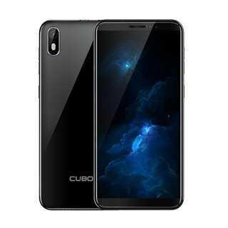"CUBOT Smartphone J5, 5.5"", 2GB, 16GB, Quad-Core, 8MP, 2800mAh, μαύρο"