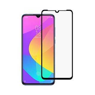 POWERTECH Tempered Glass 5D Full Glue, Xiaomi Mi CC9 Qualcomm, μαύρο