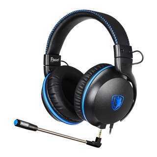 SADES Gaming Headset Fpower SA-717-BL, multiplatform, 3.5mm