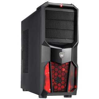 Bundle BNDL-0019 POWERTECH Gaming case CP-626-RD & PSU 600W PT-905