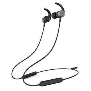 YISON Earphones E17-BK, Bluetooth 5.0, multipoint, με μαγνήτη, μαύρα