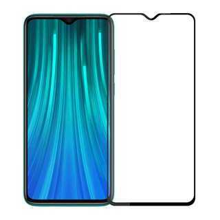 POWERTECH Tempered Glass 5D, Full Glue, Xiaomi Redmi Note 8 Pro, μαύρο