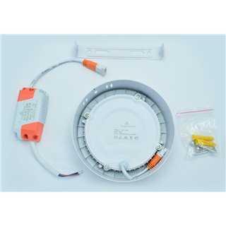 POWERTECH LED Panel SMRP-1206W3, 6W, warm white 3000K, 360lm