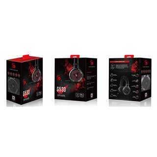 BLOODY Gaming Headset BLD-G530, 7.1CH, 50mm, USB, 105dB, μαύρα