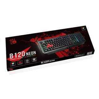BLOODY ενσύρματο gaming πληκτρολόγιο BLD-B120N, RGB Backlit, μαύρο