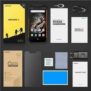 "ULEFONE Smartphone Armor X5, IP68/IP69K, 5.5"", 3/32GB, Octa-core, μαύρο"