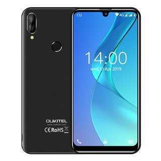 """OUKITEL Smartphone C16 Pro, 5.71"""", 3/32GB, Quadcore, 2600mAh, μαύρο"""