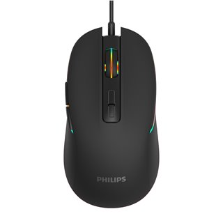 PHILIPS ενσύρματο gaming ποντίκι momentum SPK9414, 3600DPI, 7 πλήκτρα
