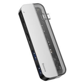 BASEUS USB Type-C HUB CAHUB-TD0G, 2x USB 3.0, Type-C, HDMI 4k