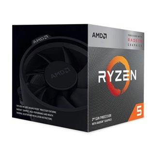 AMD CPU Ryzen 5 3400G, 3.7GHz, 4Cores, AM4, Radeon RX Vega 11 Graphics