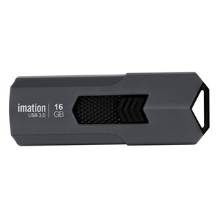 IMATION USB Flash Drive Iron KR03020021, 16GB, USB 3.0, γκρι