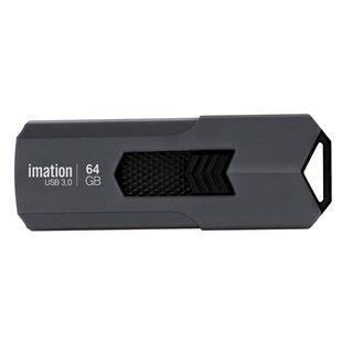 IMATION USB Flash Drive Iron KR03020023, 64GB, USB 3.0, γκρι