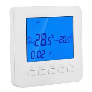 POWERTECH Έξυπνος θερμοστάτης καλοριφέρ PT-784, WiFi, touch screen