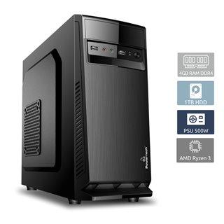 POWERTECH PC DMPC-0017 Ryzen 3 1300X, DDR4 4GB, 1TB HDD, VGA GT710