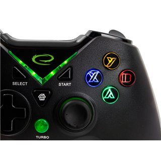 ESPERANZA gamepad GX660, με vibration, PC, PS3, Xbox One, Android