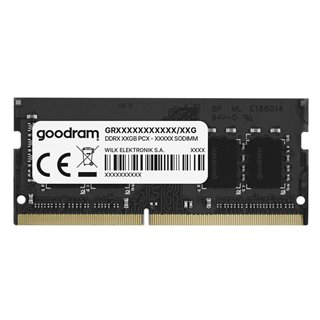 GOODRAM Μνήμη DDR4 SODIMM, 4GB, 2400MHz, PC4-19200, CL17