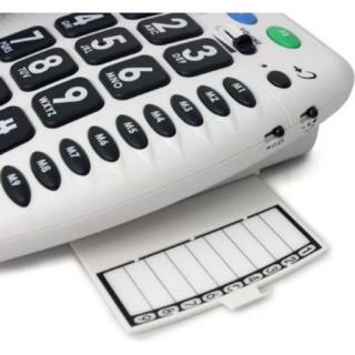 Geemarc CL100 Τηλέφωνο για μεσαίες δυσκολίες ακοής και όρασης, +30dB φωνή, +85dB κουδούνι