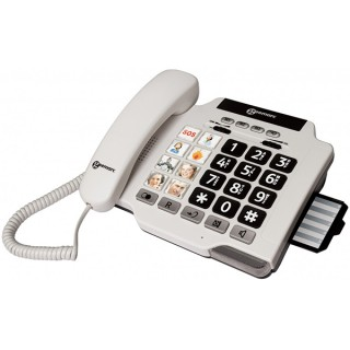 Geemarc PHOTOPHONE100 σταθερό τηλέφωνο, +30dB φωνή, +80dB κουδούνι