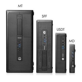 HP PC 800 G1 USDT, i5-4460S, 4GB, 500GB HDD, DVD, REF SQR