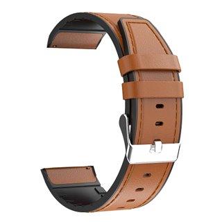 Λουράκι ρολογιού BAND22MMLT-BR, 22mm, δερμάτινο, καφέ