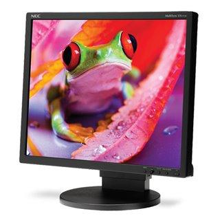 """NEC used οθόνη EA191M-BK LCD, 19"""" 1280x1024px, VGA/DVI-D, με ηχεία, SQ"""