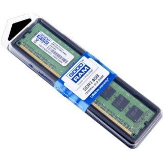 GOODRAM Μνήμη DDR3 UDIMM GR1333D364L9-8G, 8GB, 1333 MHz, PC3-10600