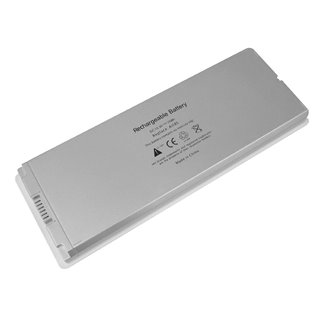 POWERTECH συμβατή μπαταρία για Apple Macbook 13 A1185, λευκή