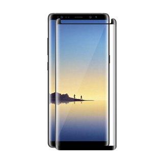 POWERTECH Tempered Glass 3D, mini, Full glue, για Samsung Note 8, Black