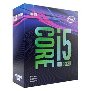 INTEL CPU Core i5-9600KF, Six Core, 3.7GHz, 9MB Cache, LGA1151