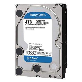 """WD Blue Σκληρός Δίσκος WD40EZRZ 4TB, 3.5"""", 64MB Cache, 5400RPM, 6Gb/s"""