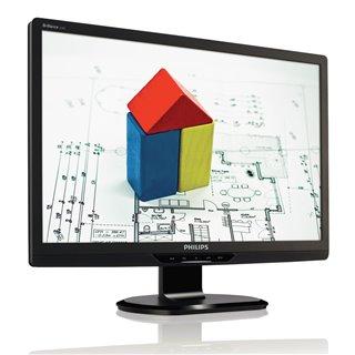 """PHILIPS used οθόνη 220S2SB LCD, 22"""" 1680x1050, VGA/DVI-D, FQ"""