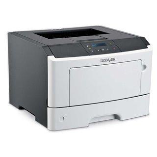 LEXMARK used Printer MS410DN, laser, monochrome, no toner
