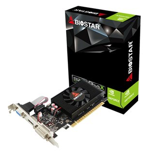 BIOSTAR VGA NVIDIA GeForce GT710 VN7103THX6 LP, DDR3 2GB, 64bit