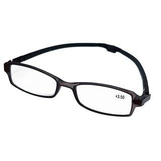 WELLYS μεγεθυντικά γυαλιά 6074256, +3.50, με μαγνήτη, γκρι