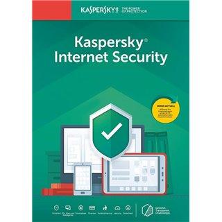 KASPERSKY Internet Security KL1939U5AFS-20FFP, 1 συσκευή, 1 έτος, EU