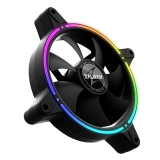 ZALMAN LED ανεμιστήρας ZM-RFD120A, 120mm, Double spectrum, RGB