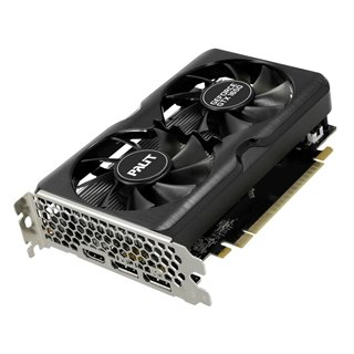 PALIT VGA GeForce GTX 1650 GP OC NE61650S1BG1-166A, DDR6 4GB, 128bit