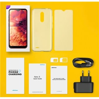 "ULEFONE Smartphone Note 8, 5.5"", 2/16GB, Android 10 Go Edition, μαύρο"