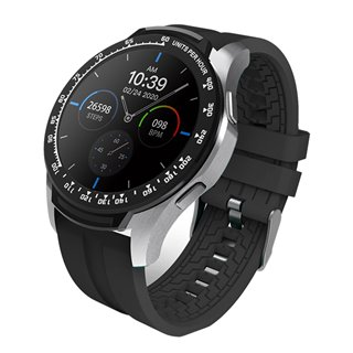"HIFUTURE Smartwatch HiFIT, 1.28"" LCD, IP67, heart rate monitor, μαύρο"