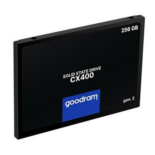 """GOODRAM SSD CX400 Gen.2 256GB, 2.5"""", SATA III, 550-480MB/s, 3D TLC NAND"""