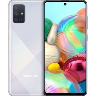 """ΚΙΝΗΤΟ SAMSUNG GALAXY A71 SM-A715F 6.7"""" 4G 128GB/6GB DUAL SIM SILVER GR"""