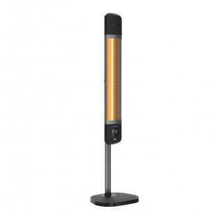 Επιδαπέδιο θερμαντικό με WIFI Luxeva SMART FR-2500W BLACK