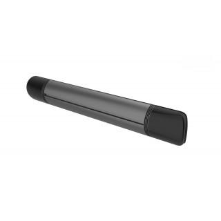 Επιτοίχιο θερμαντικό με WIFI Luxeva SMART-WL 2500W BLACK