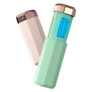 Mini αποστειρωτής υπεριώδους ακτινοβολίας UVC UVS-PK, φορητός, ροζ