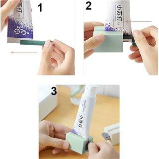 Βάση με κλειδί εξαγωγής οδοντόκρεμας CLN-0009, πράσινη