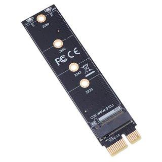 POWERTECH κάρτα επέκτασης PCIe σε M.2 Key M TOOL-0044, NVMe